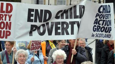 Historic: Scotland is now the only part of the UK with targets to cut child poverty.