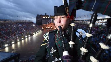 Fifer Megan, from Burntisland, is also the youngest to have attained the Pipe Major's qualification.