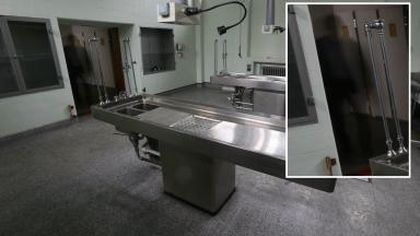 Most haunted: Can you spot the eerie figure in the morgue?