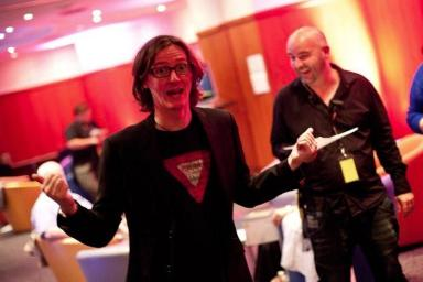 Ed Byrne: Festival regular hosted Macmillan fundraiser.