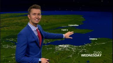 Graphics: Viewers will be taken on a colourful 'weather journey'.
