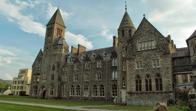 Fort Augustus: The Benedictine monastery closed in 1999.