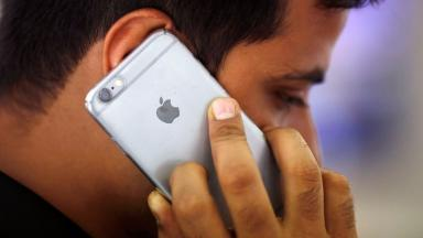 File photo. An Arab activist's iPhone was targeted by malware, prompting a security update from Apple.