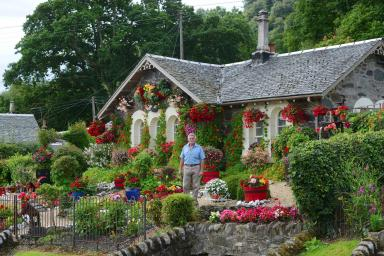 Pensioner's Garden Blooms Into Accidental Tourist Attraction