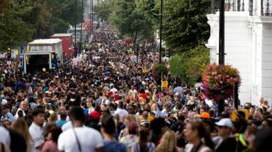 A million revellers hit the streets of Notting Hill for the carnival
