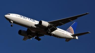 United: First time winter New York route has been grounded (file pic).