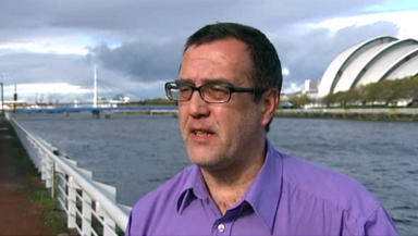 Chris White: Complained about treatment at shopping centre.