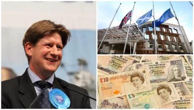 Shareholder: Alexander Burnett holds £5.5m of shares in a property company.