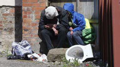 Rough sleepers: People aged 16-24 least likely to approach the homeless.