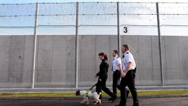 Saughton: Blair-Wilson is charged with taking drugs into the Edinburgh prison.