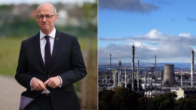 Fracking: John Swinney has met with directors of the firm four times since February 2015.