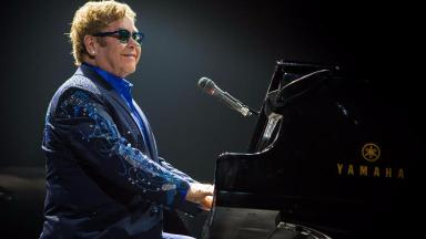 Coming to Scotland: Sir Elton John will perform in Glasgow and Aberdeen.