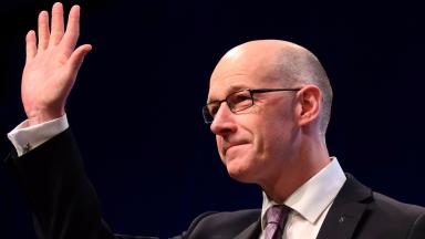 MSP: John Swinney says he will work with the school.
