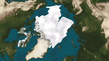 An area of ice the size of Texas has disappeared.