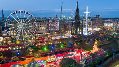 The capital's Christmas market has been controversial.