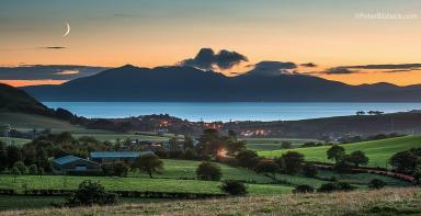 Isle of Arran: Spectacular view taken from West Kilbride, Ayrshire