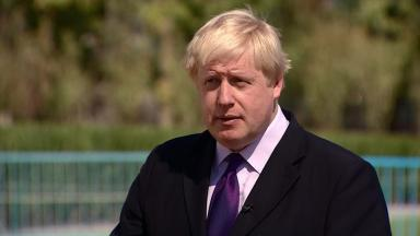 Johnson: Called for renewal of 'ties that bind the UK'.