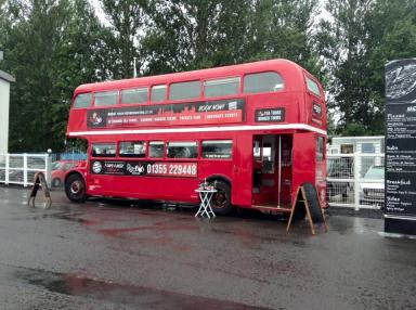 The Red Bus Bistro will launch in October.