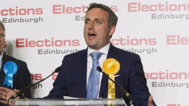 Alex Cole-Hamilton: Lib Dem MSP defeated SNP in Edinburgh West in 2016.