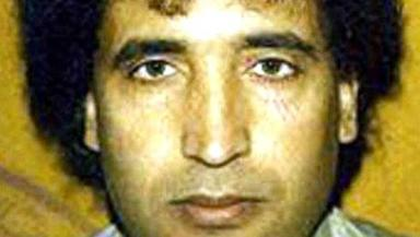 Megrahi: The Libyan was found guilty of the bombing in 2001.