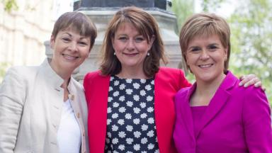 Statement: The Greens and Plaid Cymru signed a joint statement with the SNP.