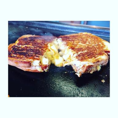 Smokin': It will be cheese toastie galore at this Sunday's festival.