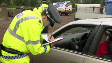 Police: Speed checks carried out on north east roads over weekend (file pic).
