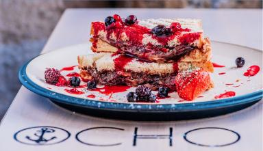 Sweet tooth: Ocho, Glasgow makes toasties even more exciting.