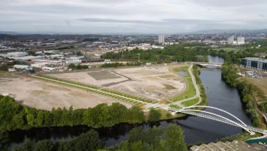 Site: Around 1.2m sqft of office space to be built at Shawfield.