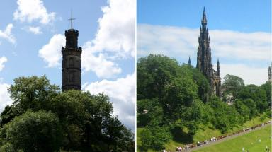 Monumental Challenge: Edinburgh residents can win a range of prizes.