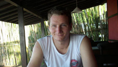 Appeal: Matthew Taylor is in hospital in Singapore after being badly injured in the smash.