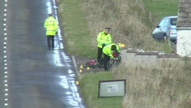 Named: Elaine Dunne was pronounced dead at the scene of the smash on the A99.