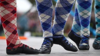 Scottish celebration: Royal National Mod gets under way.
