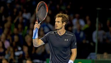 Murray is into the second round of the Zhuhai Championships.