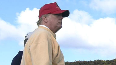 Trump: 'I think that my mother would be very proud of what I am doing for Scotland.'