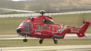 Super Puma: Similar helicopter ditched in the North Sea