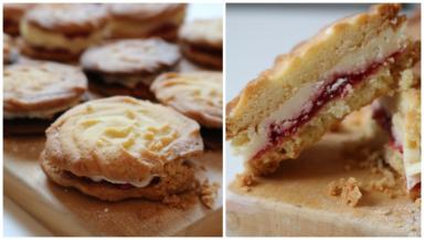 Viennese Whirls are far too fiddly and crumbly