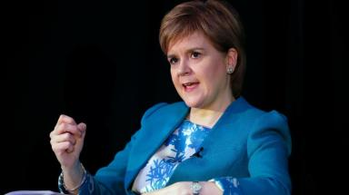 Nicola Sturgeon: 12 new Bills to be put forward (file pic).
