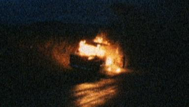 Car: Renee's vehicle was found burnt-out.