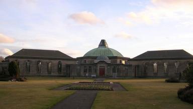 The alleged incident took place at Daldowie Crematorium.