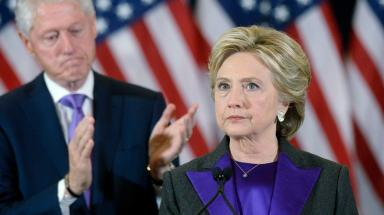 Time magazine put Hillary Clinton in second place