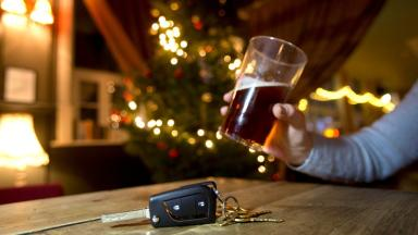 Illegal: Drink-driving is against the law.
