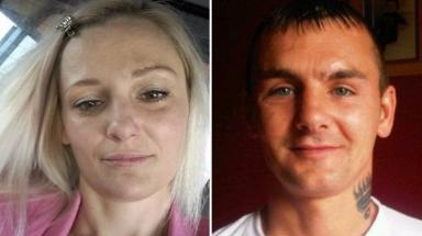 Murder trial: Holly Alexander and Ronnie Kidd were found dead.