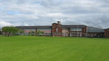 Lenzie Academy: Pupil brought knife to school.