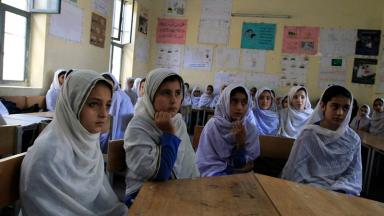 Education: Pakistan has 25 million children who do not go to school (file pic).