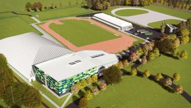 Sports centre: Layout to be redesigned.