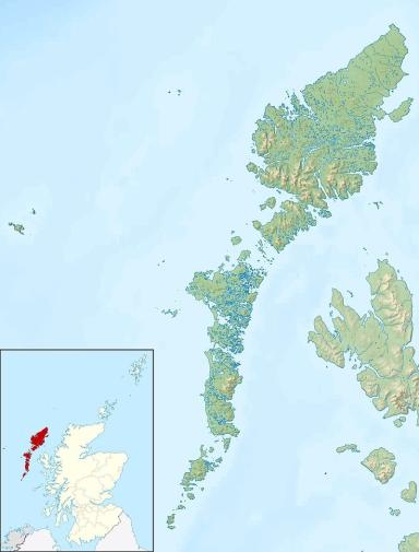 The Flannan Isles are located in Outer Hebrides.