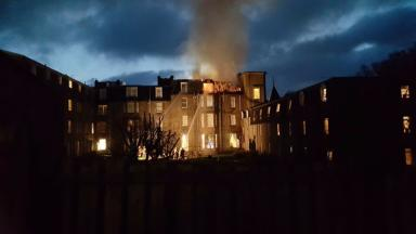 Pitlochry fire: Guests evacuated from hotel on New Year's Day.