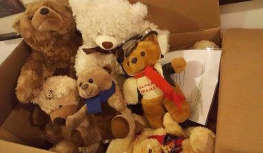 Donations: More bears sent to Aileen as word spreads.