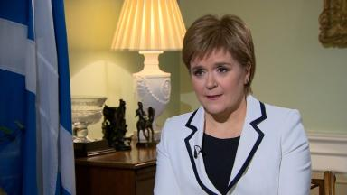 Debate: First Minister Nicola Sturgeon